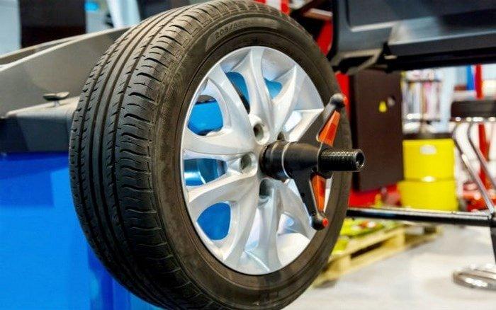 Neumáticos equilibrado