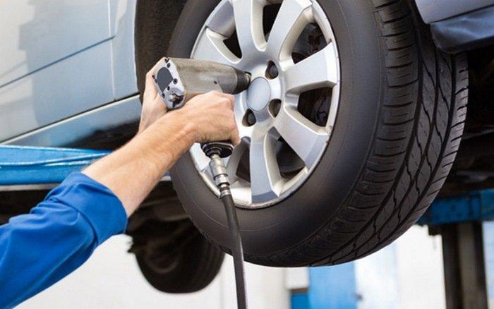 Neumáticos montaje