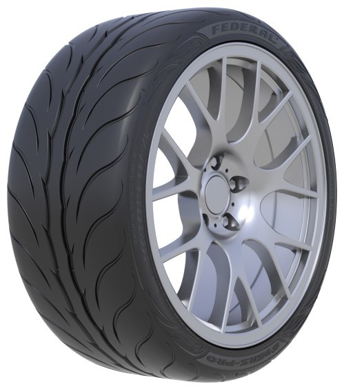 FEDERAL 215/45ZR17 91W XL 595RS-PRO (SEMI-SLICK)